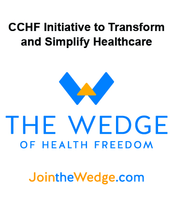 Citizens' Council for Health Freedom Marks One Year of The Wedge of Health Freedom